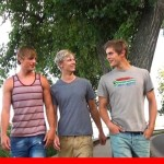 trio Mick Lovell Dolph Lambert Alex Waters in threesome 001 Young Naked Boy Twink Strips Naked and Strokes His Big Hard Cock for at belami photo 150x150 Belami: Mick Lovell, Dolph Lambert and Alex Waters, three hot guys, what next? Threesome!