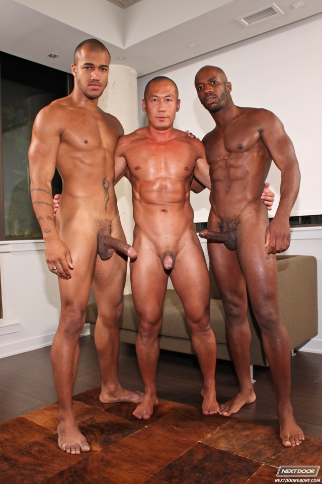 Black-gay-threesome-Race-Cooper-ass-fucks-Rob-Lee-Kiern-Duecan-Next-Door-Ebony-08-photo