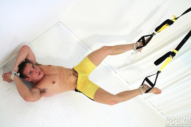 Tied-and-bound-gay-hunk-Dylan-Roberts-BDSM-bondage-hogtied-submissive-gay-bottom-Bound-Jocks-08-photo