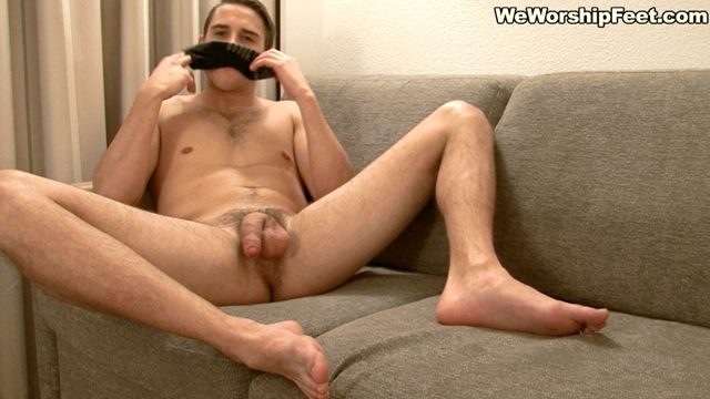 We-Worship-Feet-Sexy-young-stud-Pete-jerks-big-cock-sweaty-socks-foot-orgasm-cumming-bare-feet-001-male-tube-red-tube-gallery-photo