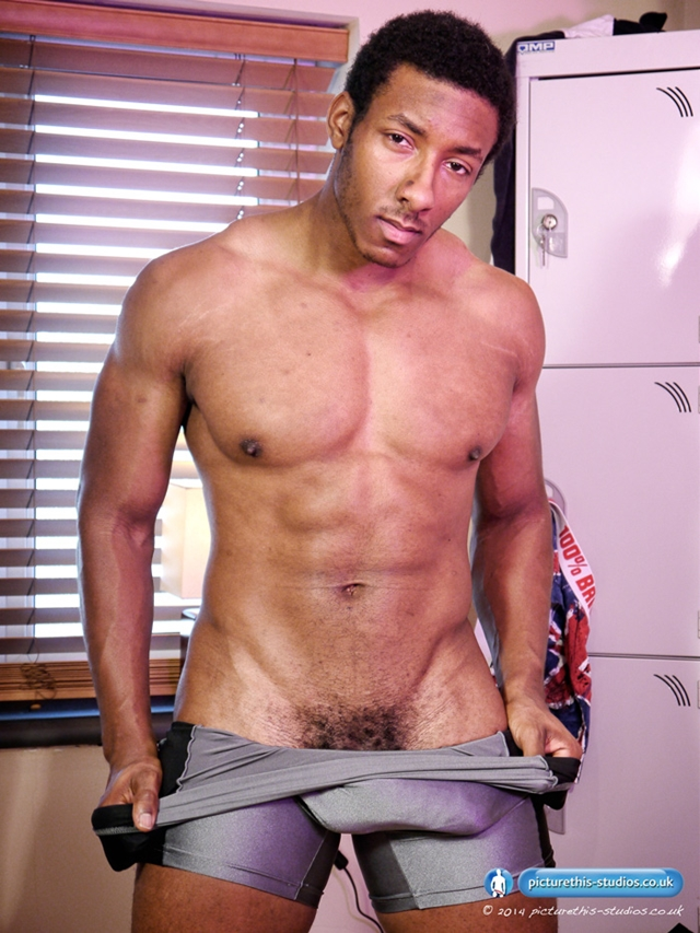 Picture-This-Studios-Freddie-Max-black-beautiful-man-gym-huge-8.5-inches-uncut-cock-skin-tight-lycra-singlet-010-male-tube-red-tube-gallery-photo