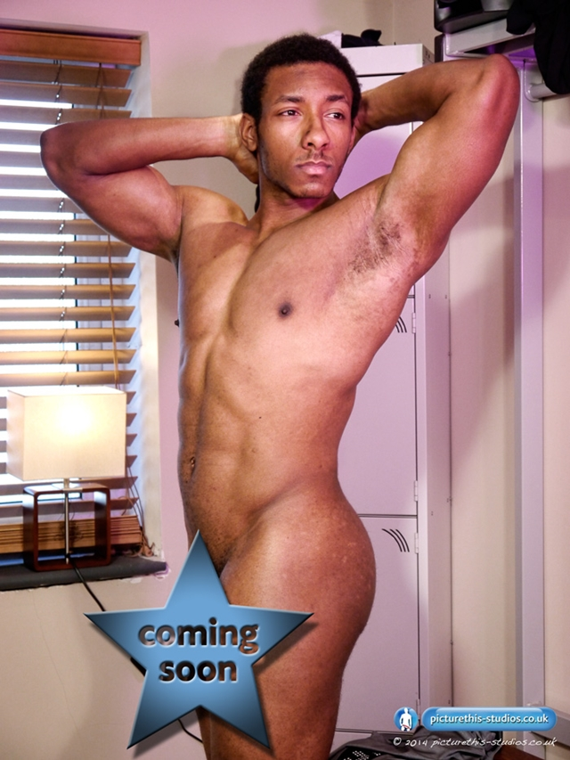 Picture-This-Studios-Freddie-Max-black-beautiful-man-gym-huge-8.5-inches-uncut-cock-skin-tight-lycra-singlet-014-male-tube-red-tube-gallery-photo
