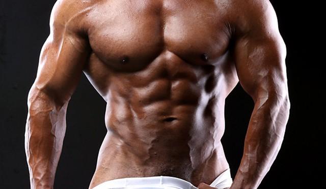 Black muscle bodybuilder Devon Ford