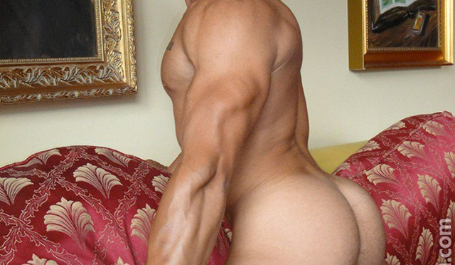 Butt beautiful. Feast your eyes on Cristian's glorious buttocks at Lucas Kazan