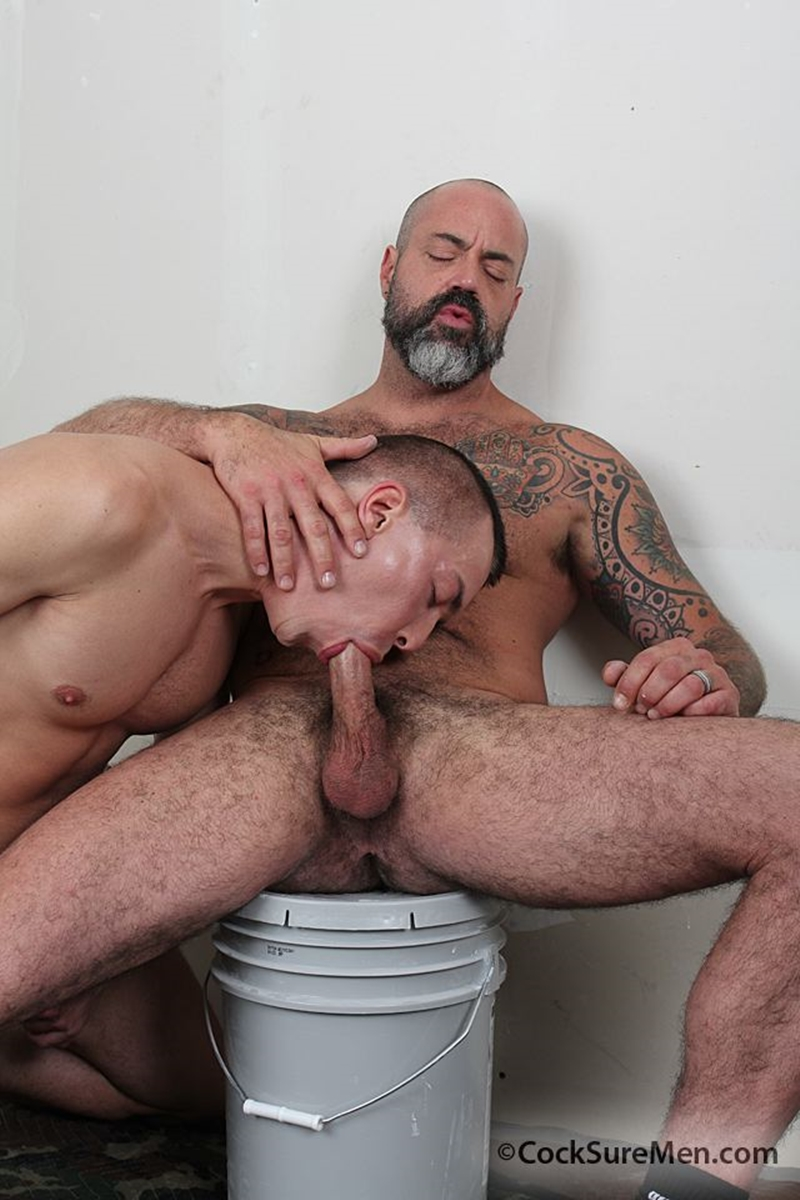cocksuremen  Scotty Rage and David Lambert