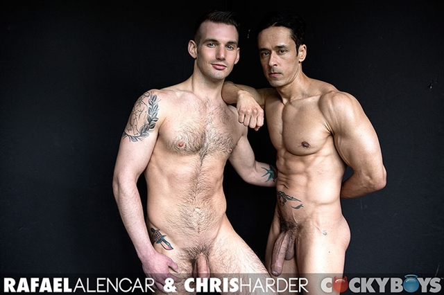Rafael Alencar and Chris Harder