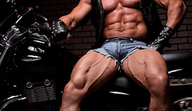 Eddie Camacho at Muscle Hunks