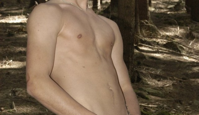 Bareback gangbang anal orgy in the woods with Jona Clerk, Johnny Hill And Tom Smith