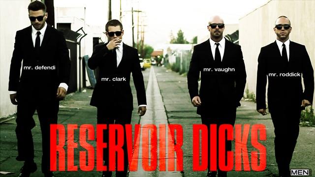 Gavin Waters, Tommy Defendi, Rex Roddick, Mitch Vaughn and Bobby Clark in Reservoir Dicks