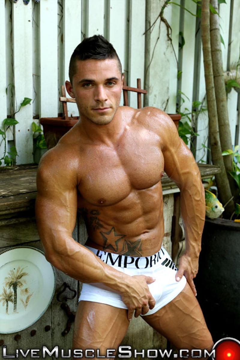 live muscle show  Joey van Damme