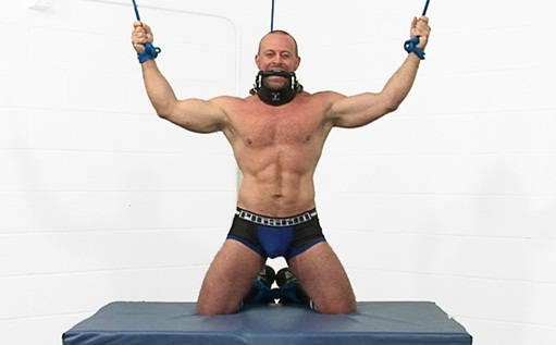 Muscle bodybuilder Casey Williams at Bound Jocks