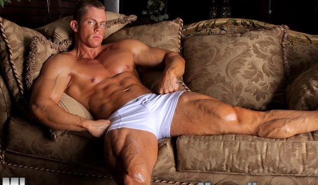 Otto Man Muscle Bodybuilder at Muscle Hunks