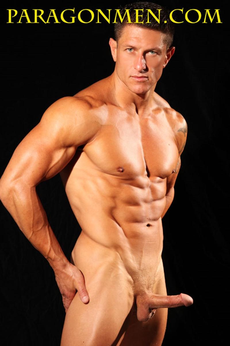Good looking nude gay man
