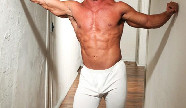 Paragon Men: Kent Slugger flexes his massive muscles!