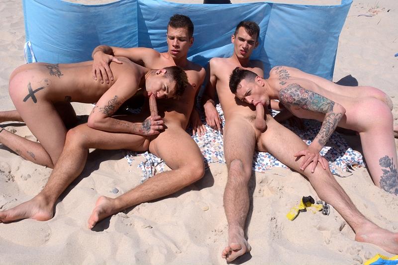 Mickey Taylor, Orlando White, Paul Walker and Pedro Ribeiro