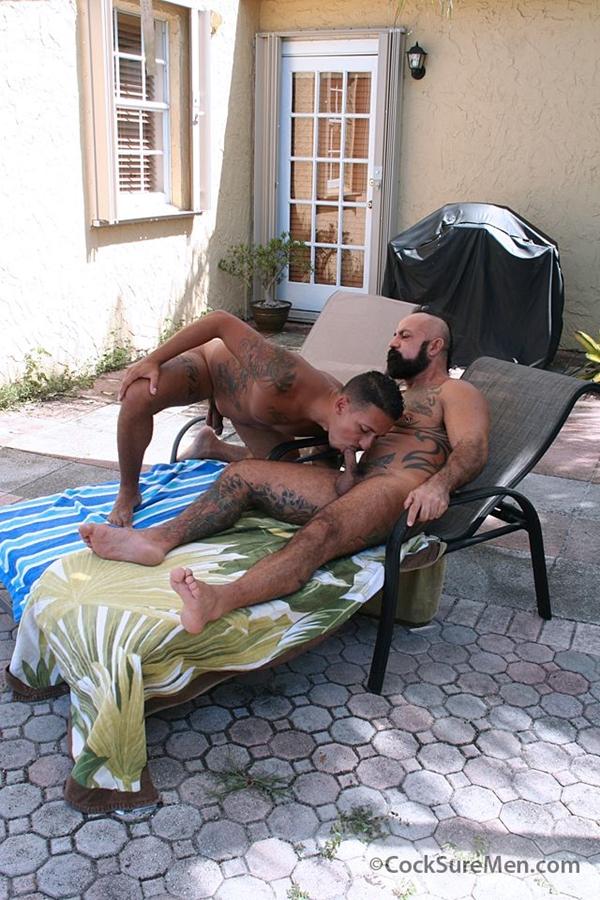 cocksuremen  Bo Bangor and Santiago Rodriguez