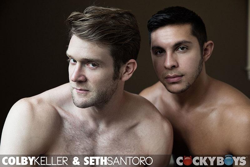 cocky boys  Colby Keller and Seth Santoro