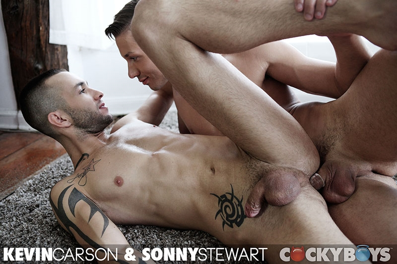 cocky boys  Kevin Carson and Sonny Stewart