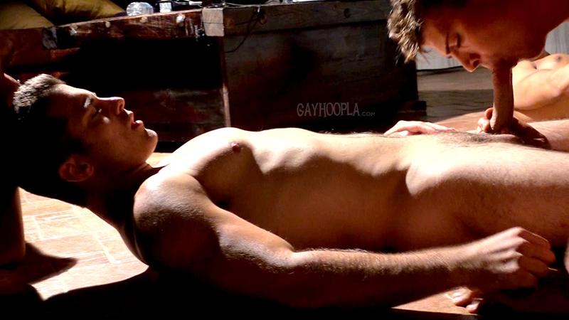gayhoopla  Brody James, Phillip Anadarko and Max Summerfield