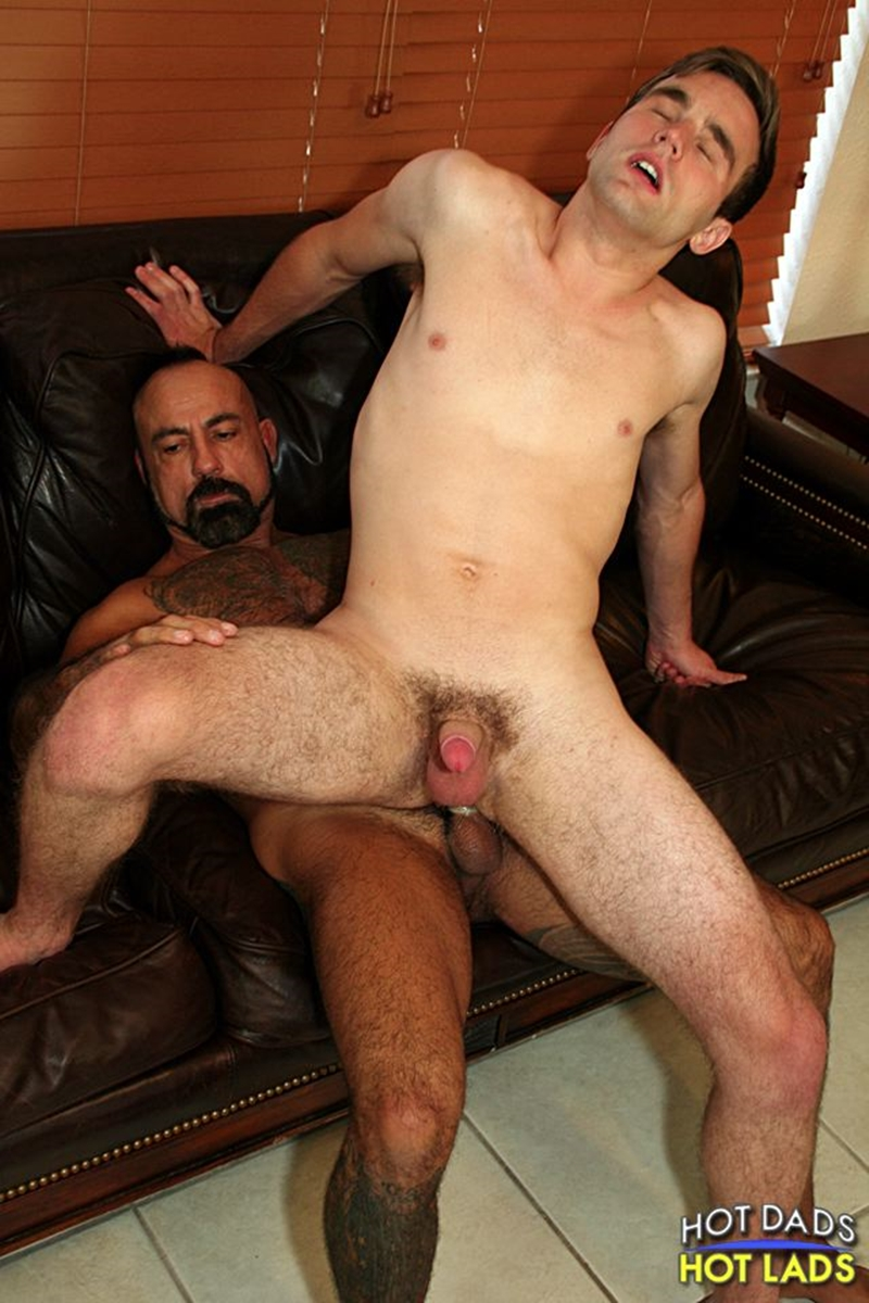 hot dads hot lads  Bo Bangor and Andrew Collins