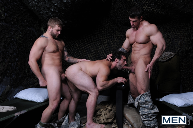 men  Colby Jansen, Jaxton Wheeler and Zeb Atlas
