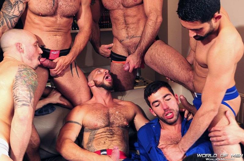 world of men  Adam Killian, Aitor Crash, Billy Baval, Damian Boss, Dominic Pacifico, Spencer Reed and  Valentin Alsina