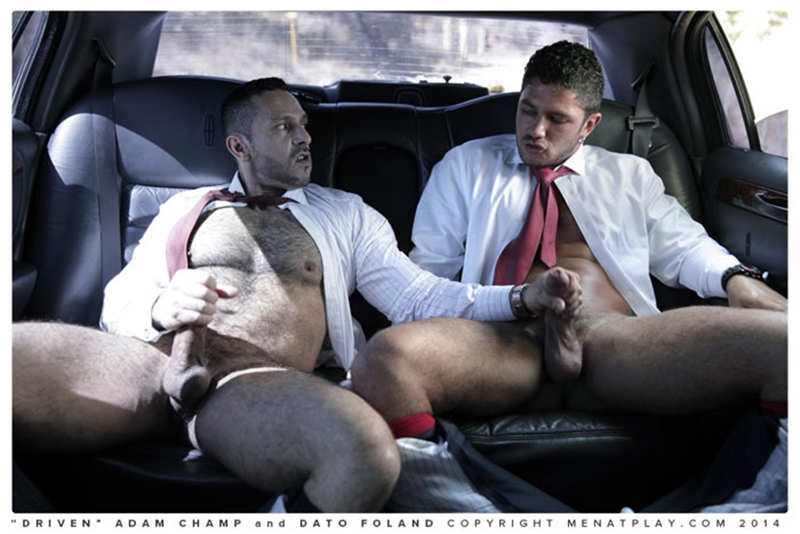 muscle men 2 men at play  Adam Champ and Dato Foland
