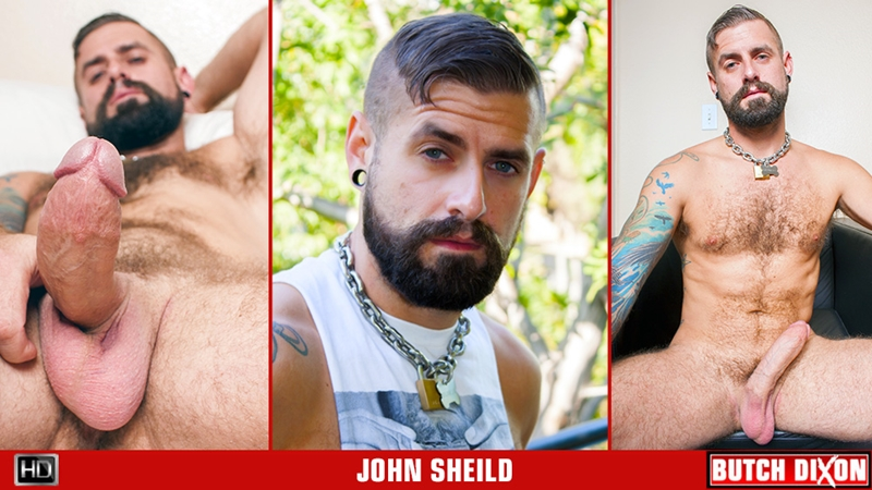 butch dixon  John Shield solo jerk off