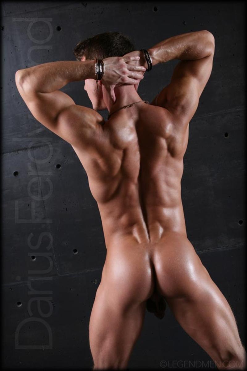 muscle men 2 legend men  Muscle naked bodybuilder Darius Ferdynand jerking uncut cock