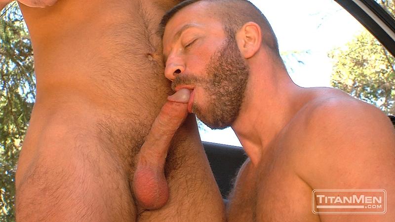 TitanMen-outdoors-gay-sex-woods-Hunter-Marx-Trent-Davis-sucks-big-muscle-cock-stroking-rimming-butt-man-hole-hairy-pecs-Fucking-007-tube-video-gay-porn-gallery-sexpics-photo
