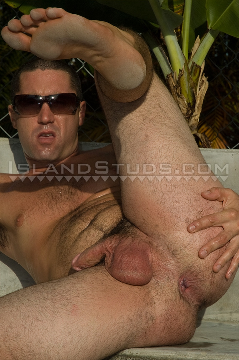 Naked gays hairy man ass spread