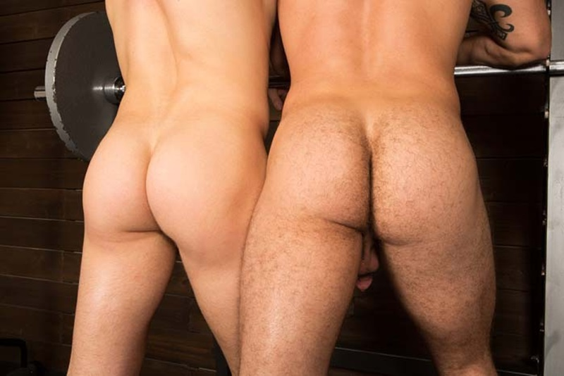 Group of straight guys showing off their bums