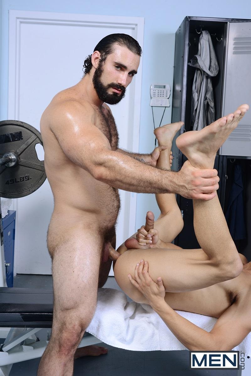 Jake cruise massages jaxton wheeler's thick erect dick to a massive cum shot dirty boy reviews