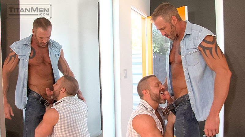 TitanMen-naked-rough-muscle-hunks-Dirk-Caber-Dallas-Steele-blue-balls-sucks-fucks-bottom-bubble-butt-ass-cheeks-rimming-cum-02-gay-porn-star-sex-video-gallery-photo
