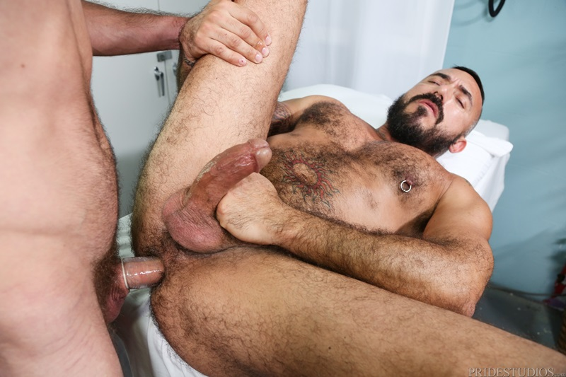 Gay hairy anal massage