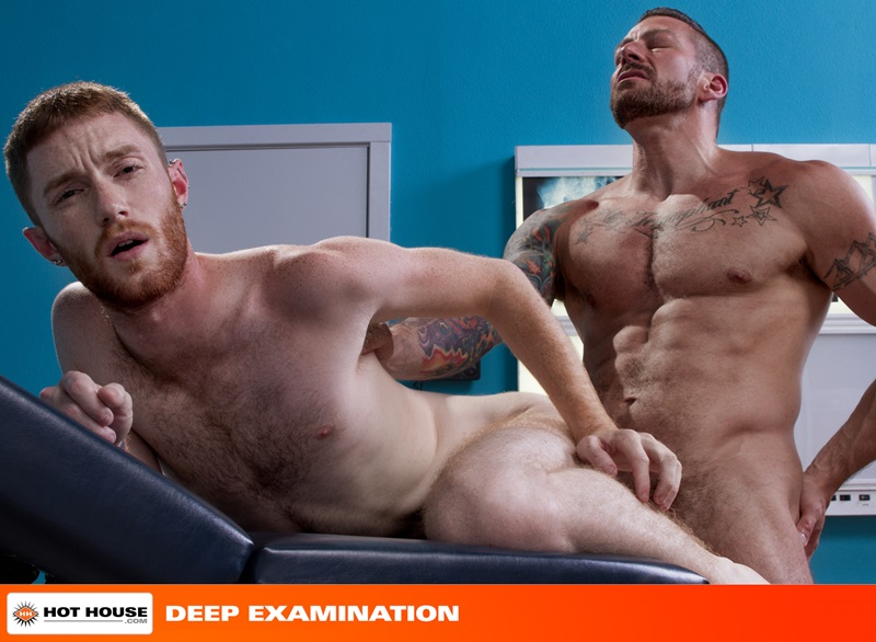 Hothouse-red-head-ginger-hunk-Seamus-OReilly-muscled-doctor-Hugh-Hunter-physical-underwear-huge-cock-ass-hole-rimming-fucking-cocksucking-15-gay-porn-star-sex-video-gallery-photo