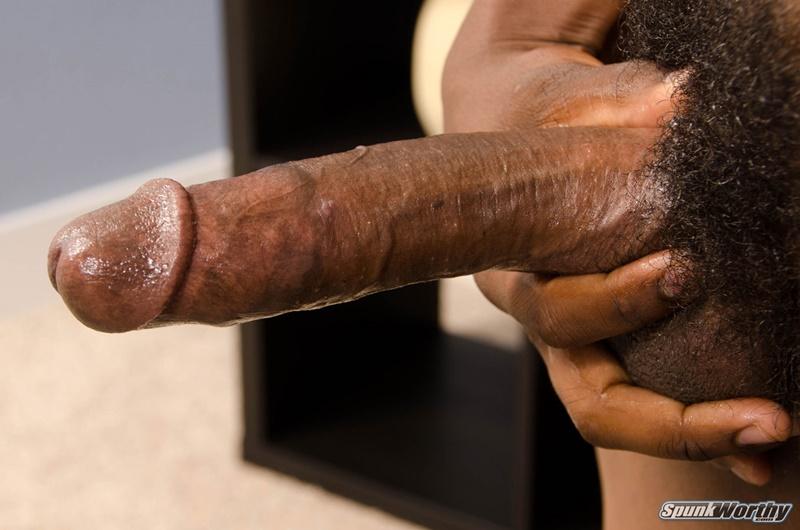 Straight Black Army Sergeant Jerking His Big Black Cock Black Men Cock