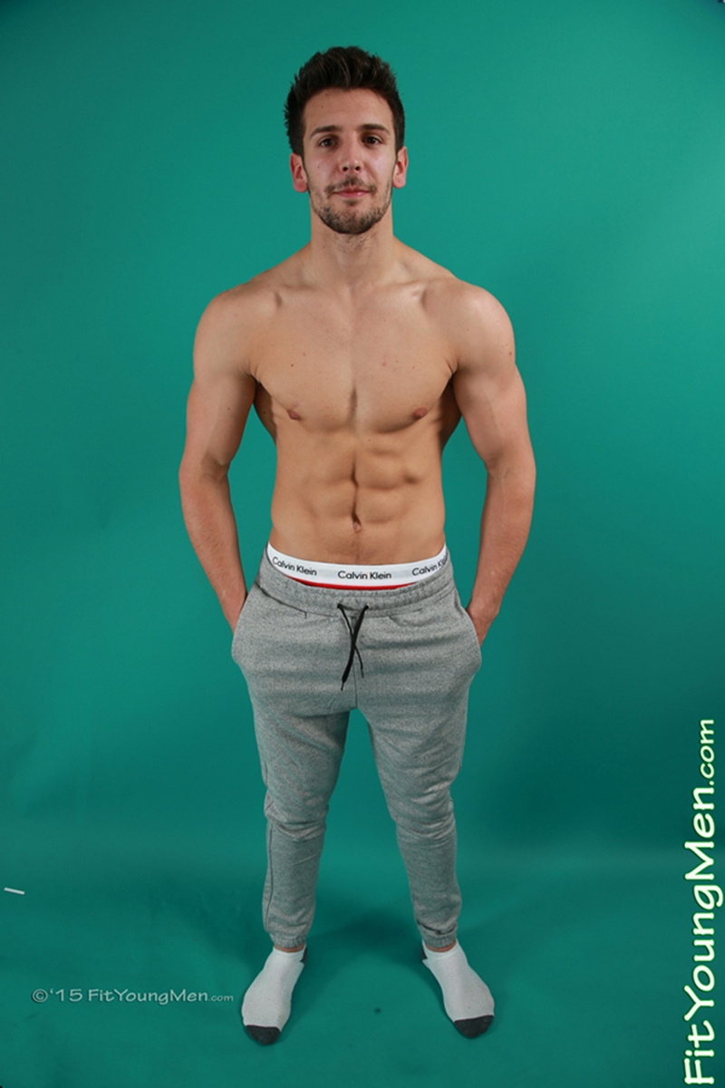 Adam Eastwood stripped down to his sexy undies check out that cock bulge