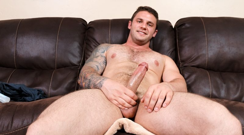 ActiveDuty-sexy-naked-young-hairy-chest-dude-Rocke-tattoo-big-thick-long-dick-jerking-solo-cumshot-muscle-hunk-low-hanging-balls-001-gay-porn-sex-gallery-pics-video-photo