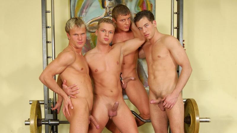 Dominic Ford 4 sexy naked jocks 8 huge dick cum shots