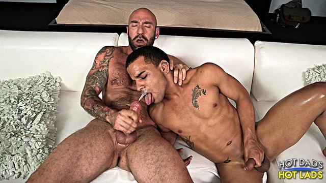 hot dads hot lads  Drew Sebastian and Trelino
