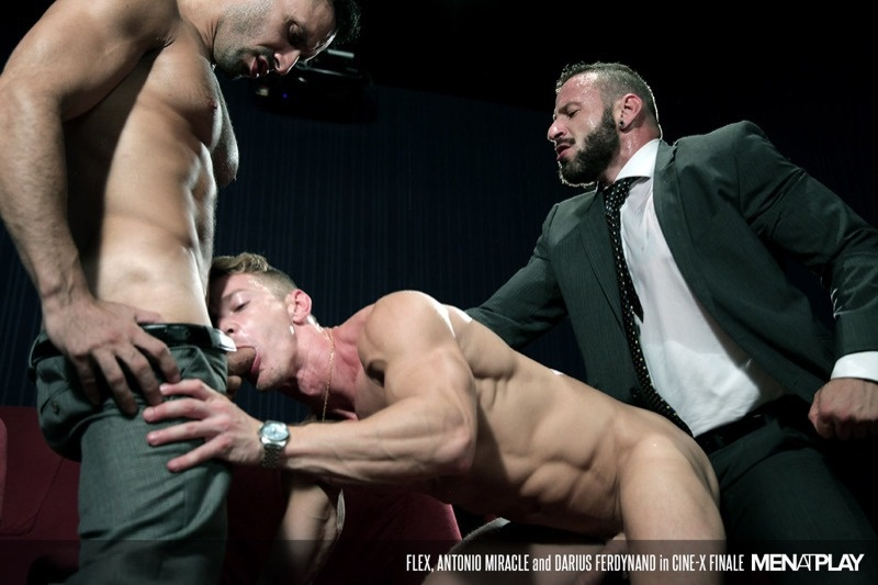 Men at Play Enzo Rimenez, and Emir Boscatto get fucked by the beautiful young Sunni Colucci