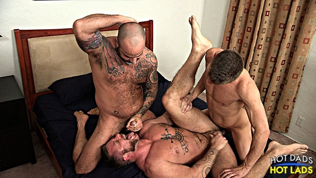 hot dads hot lads  Scotty Rage and Joseph Rough