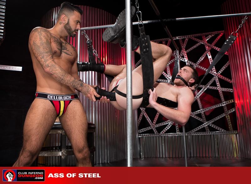 Rikk York kisses Brandon Moore for being such an amazing fisting bottom