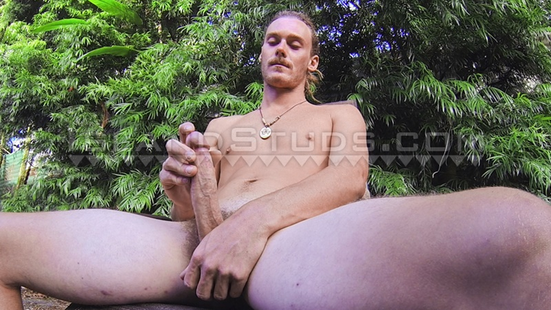 Hung 8 inch Tree horny snowboarder skater opens hole pees leaks and busts a big load in Hawaii!