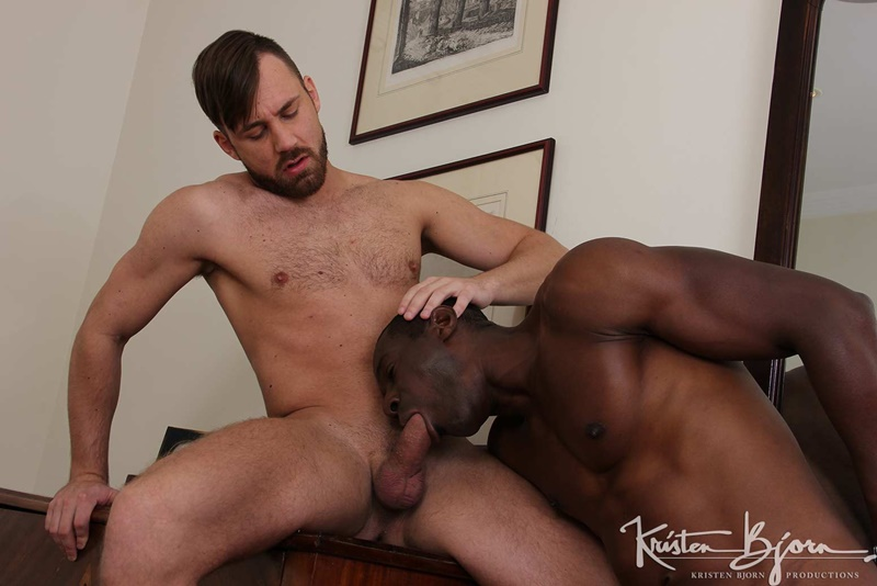 Sex Men: Black And White Logan Moore and Titan Tex hardcore bareback ass fucking