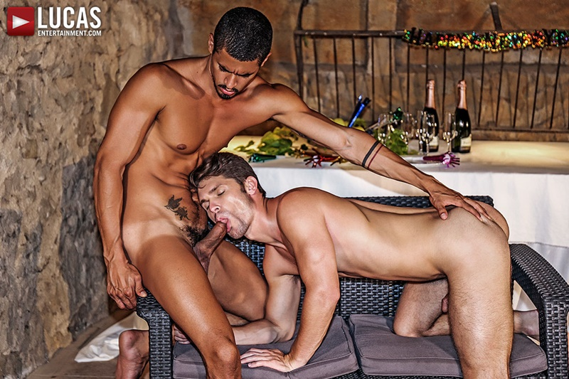 Ibrahim Moreno and Devin Franco bareback big raw cock bare ass fucking