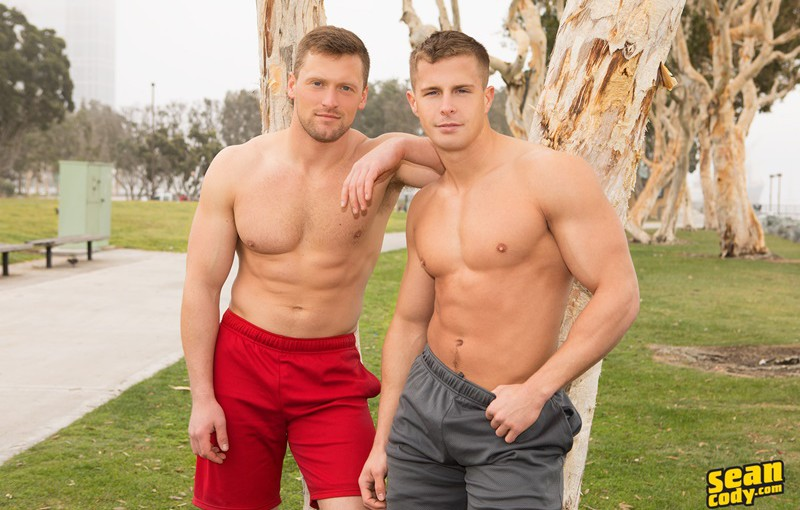 Sean Cody Nixon and Brendan big all American dick hardcore bareback raw ass fucking