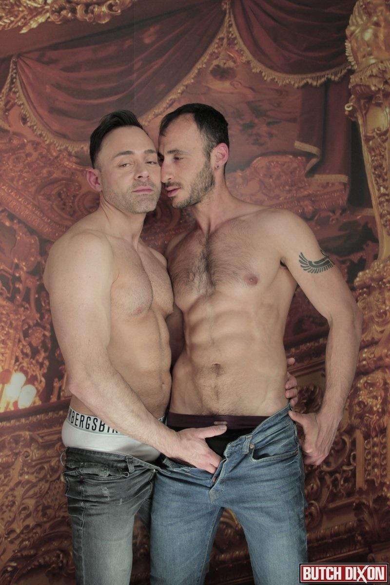 Actor Porno Gay Leonardo ely chain fucks leonardo lucatto doggy style thrusting his