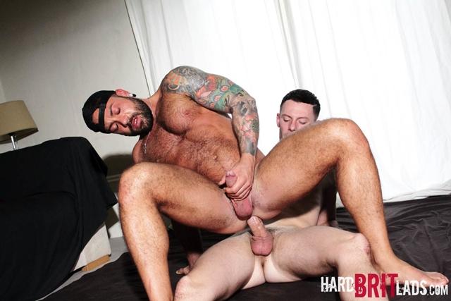 hard brit lads  Theo Reid and Sergi Rodriguez
